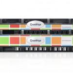 Quadriga custom rack server bezel design